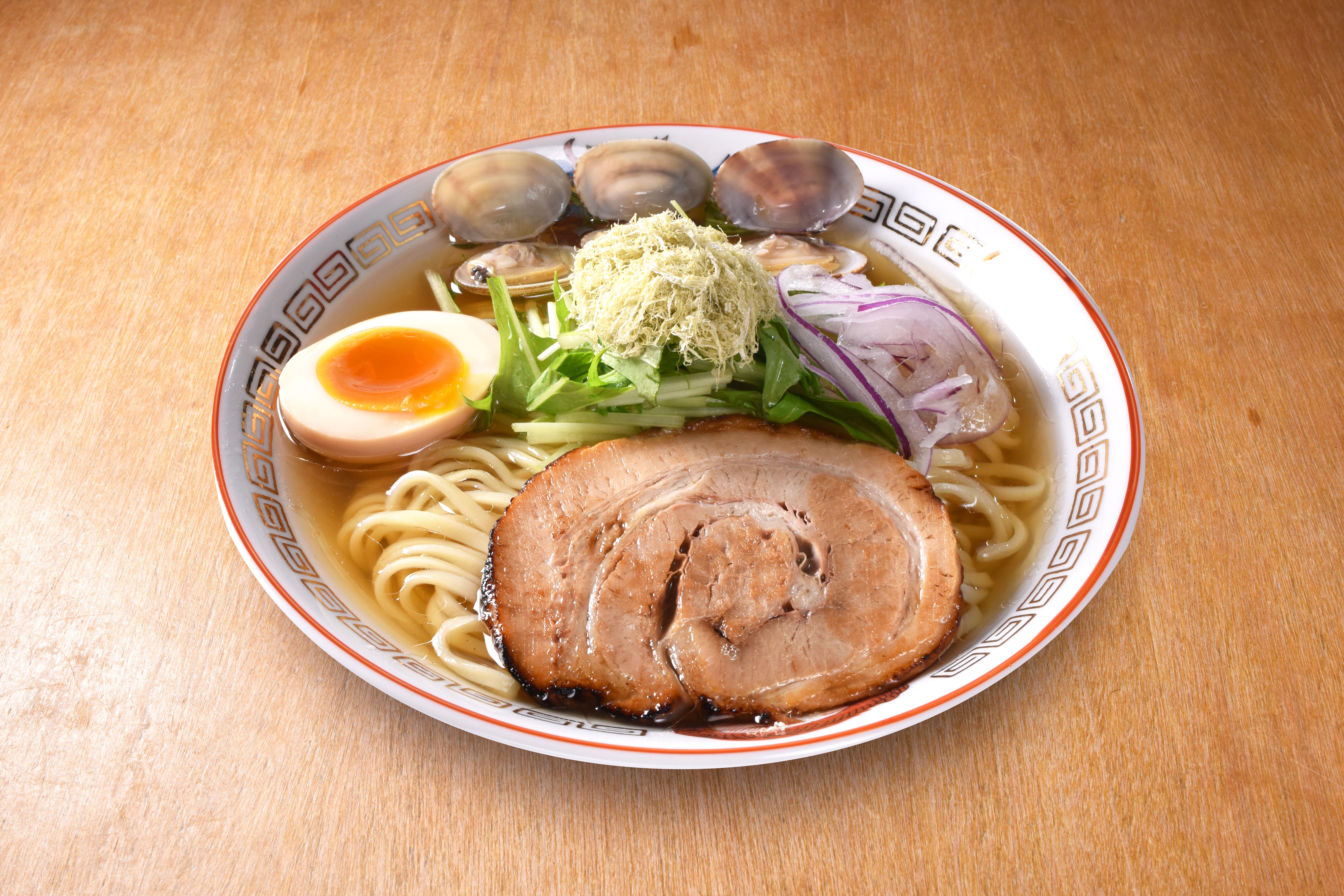 ズワイガニつけ麺